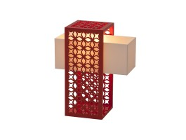 Luminária de Mesa  Gradil - Lattoog teste