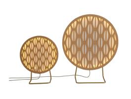 Luminárias Pirulito - mesa- mini