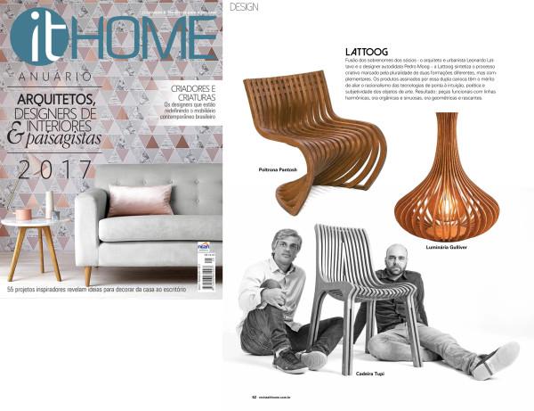 Lattoog - Revista It Home - Outubro
